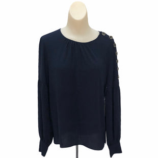 Primary Photo - BRAND: VINCE CAMUTO STYLE: TOP LONG SLEEVE COLOR: NAVY SIZE: S SKU: 293-29344-2285