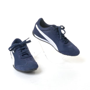 Primary Photo - BRAND: PUMA STYLE: SHOES ATHLETIC COLOR: NAVY SIZE: 6.5 SKU: 293-29311-28093
