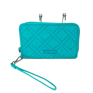 Primary Photo - BRAND: VERA BRADLEY STYLE: WALLET COLOR: TEAL SIZE: MEDIUM SKU: 293-29311-35652