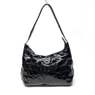 Primary Photo - BRAND: BRIGHTON STYLE: HANDBAG DESIGNER COLOR: BLACK SIZE: MEDIUM OTHER INFO: PATENT LEATHER SKU: 293-29312-34106