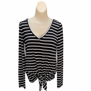 Primary Photo - BRAND: EXPRESS STYLE: TOP LONG SLEEVE BASIC COLOR: BLACK WHITE SIZE: S OTHER INFO: STRIPED SKU: 293-29312-25675