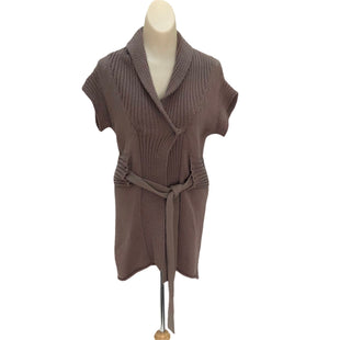 Primary Photo - BRAND: ANTHROPOLOGIE STYLE: SWEATER CARDIGAN LIGHTWEIGHT COLOR: TAUPE SIZE: S SKU: 293-29311-31592