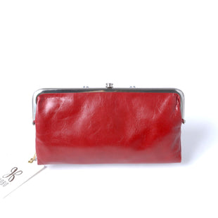 Primary Photo - BRAND: HOBO INTL STYLE: WALLET COLOR: RED SIZE: MEDIUM SKU: 293-29312-31805LAUREN WALLET