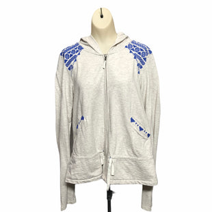 Primary Photo - BRAND: ANTHROPOLOGIE STYLE: JACKET OUTDOOR COLOR: GREY SIZE: M OTHER INFO: LILKA SKU: 293-29344-4334