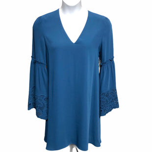 Primary Photo - BRAND: LAUNDRY STYLE: DRESS SHORT LONG SLEEVE COLOR: BLUE SIZE: 12 SKU: 293-29351-381