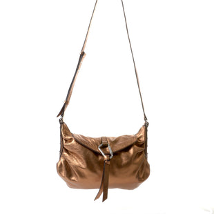"Primary Photo - BRAND: VINCE CAMUTO STYLE: HANDBAG LEATHER COLOR: BRONZE SIZE: MEDIUM SKU: 293-29312-2866212""W X 10""H X 5""D"