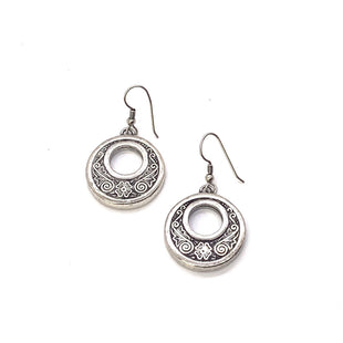 Primary Photo - BRAND: BRIGHTON STYLE: EARRINGS COLOR: SILVER OTHER INFO: CIRCLE SKU: 293-29312-30144