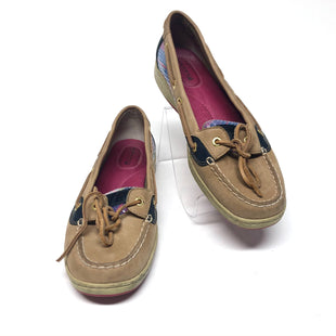 Primary Photo - BRAND: SPERRY STYLE: SHOES FLATS COLOR: BROWN SIZE: 8.5 OTHER INFO: AND NAVY SKU: 293-29312-32192