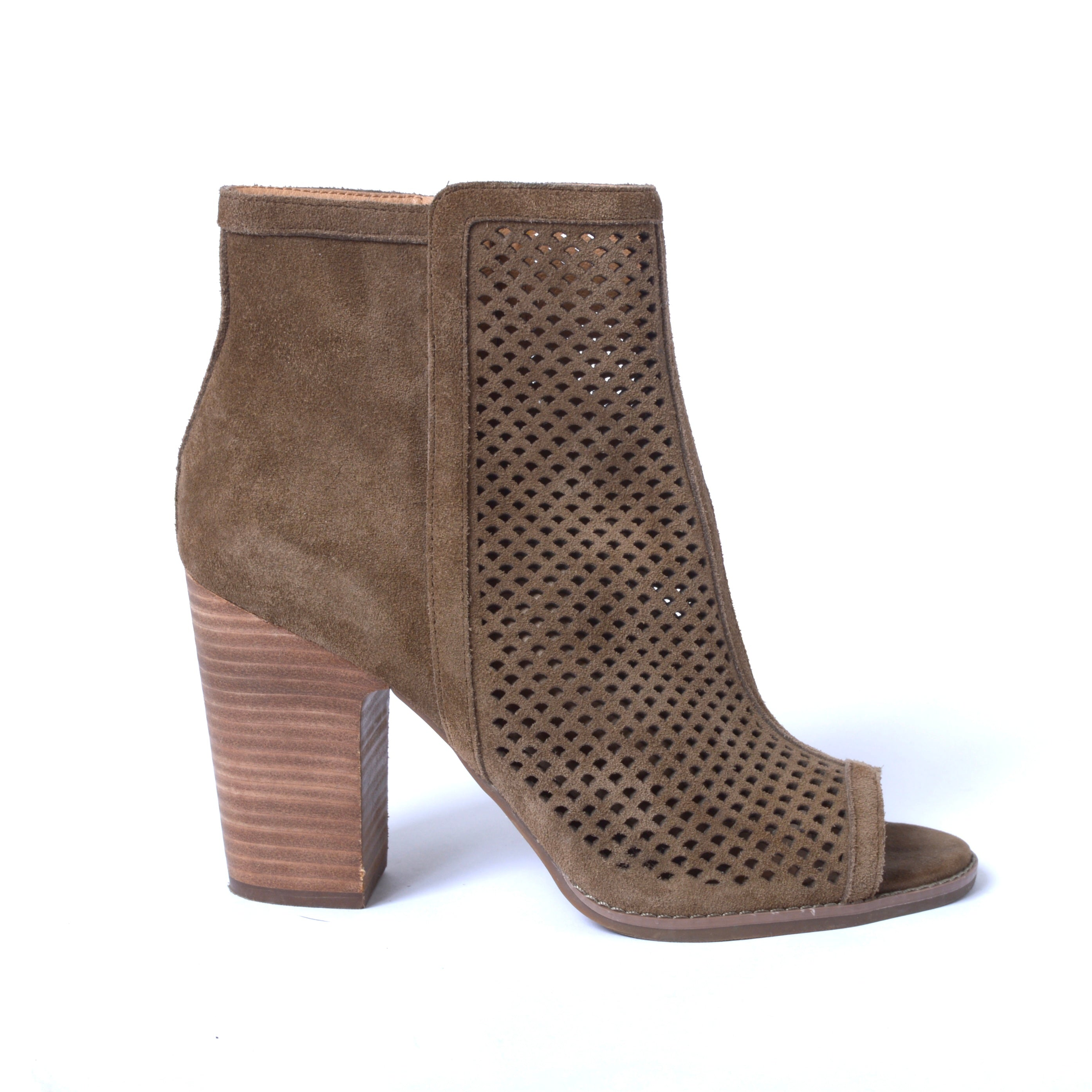 Primary Photo - BRAND: LUCKY BRAND <BR>STYLE: BOOTS ANKLE <BR>COLOR: TAUPE <BR>SIZE: 9 <BR>SKU: 293-29311-33617
