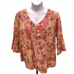 Primary Photo - BRAND: VINTAGE AMERICA STYLE: TOP LONG SLEEVE COLOR: TAN SIZE: 2X SKU: 293-29338-10627