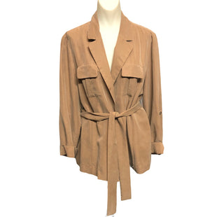 Primary Photo - BRAND: CHICOS STYLE: BLAZER JACKET COLOR: BROWN SIZE: L SKU: 293-29344-3814