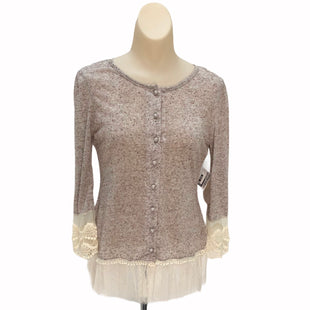 Primary Photo - BRAND: ALTARD STATE STYLE: TOP LONG SLEEVE COLOR: BEIGE SIZE: S SKU: 293-29311-29881