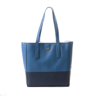 "Primary Photo - BRAND: MICHAEL BY MICHAEL KORS STYLE: HANDBAG DESIGNER COLOR: BLUE SIZE: LARGE OTHER INFO: JUNIE TOTE SKU: 293-29312-2717513""H X 9.5""W X 5""D"