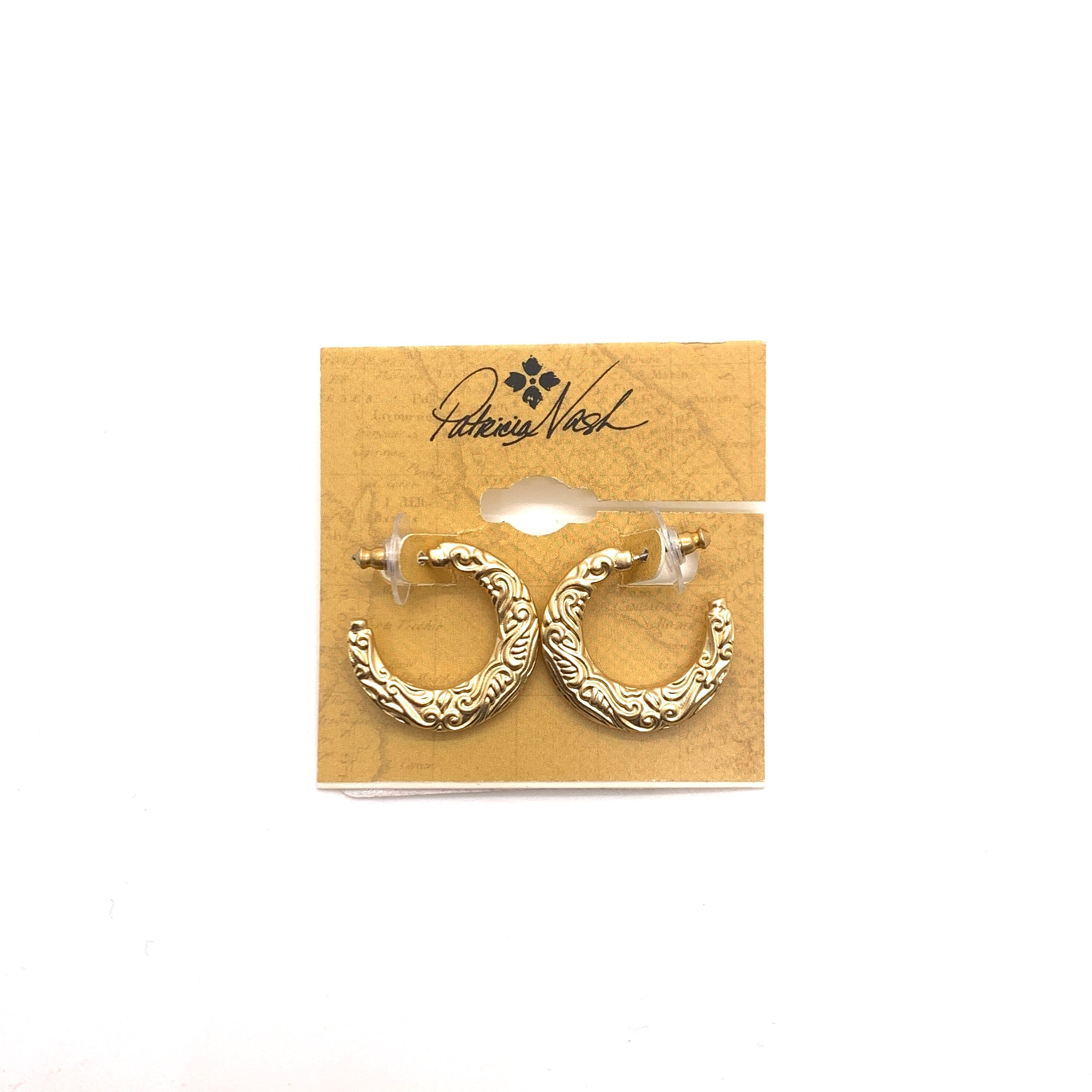 Primary Photo - BRAND: PATRICIA NASH <BR>STYLE: EARRINGS <BR>COLOR: GOLD <BR>SKU: 293-29311-35394
