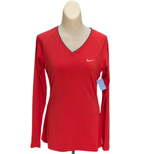 Primary Photo - BRAND: NIKE STYLE: ATHLETIC TOP COLOR: RED SIZE: M SKU: 293-29311-31449
