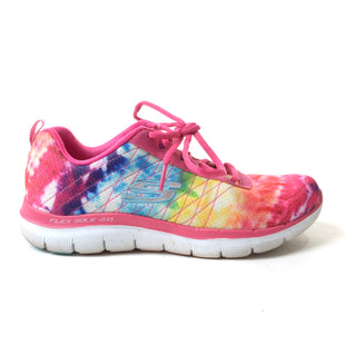 Primary Photo - BRAND: SKECHERS STYLE: SHOES ATHLETIC COLOR: RAINBOW SIZE: 6.5 SKU: 293-29342-6593