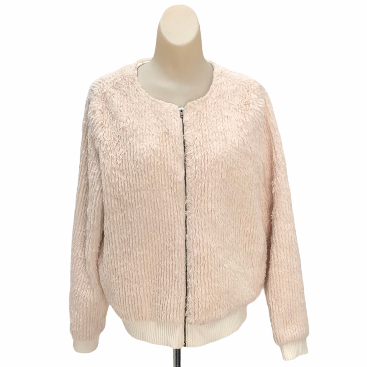 Primary Photo - BRAND: DOE & RAE <BR>STYLE: JACKET OUTDOOR <BR>COLOR: CREAM <BR>SIZE: M <BR>SKU: 293-29312-25991