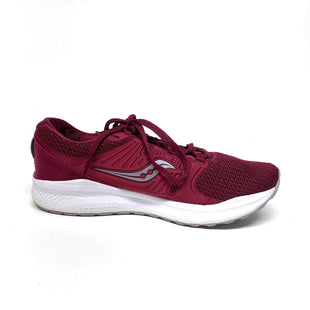 Primary Photo - BRAND: SAUCONY STYLE: SHOES ATHLETIC COLOR: MAROON SIZE: 8.5 SKU: 293-29312-34132