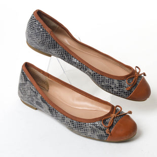 Primary Photo - BRAND: BANANA REPUBLIC STYLE: SHOES FLATS COLOR: SNAKESKIN PRINT SIZE: 8 SKU: 293-29311-27261