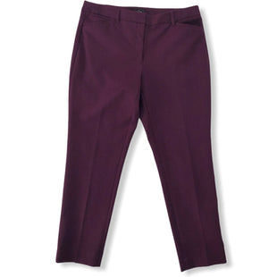 Primary Photo - BRAND: WHITE HOUSE BLACK MARKET STYLE: PANTS COLOR: PURPLE SIZE: 12 SKU: 293-29312-26150
