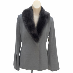 Primary Photo - BRAND: BANANA REPUBLIC STYLE: BLAZER JACKET COLOR: GREY SIZE: 2 SKU: 293-29312-26275