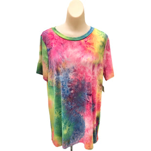 Primary Photo - BRAND:    CLOTHES MENTOR STYLE: TOP SHORT SLEEVE BASIC COLOR: TIE DYE SIZE: M OTHER INFO: CREAM N SUGAR - SKU: 293-29311-30118