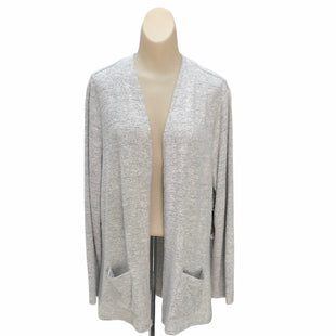 Primary Photo - BRAND: CHICOS STYLE: SWEATER CARDIGAN LIGHTWEIGHT COLOR: GREY SIZE: L SKU: 293-29311-29966