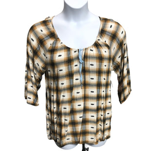 Primary Photo - BRAND:    CLOTHES MENTOR STYLE: TOP LONG SLEEVE COLOR: BROWN SIZE: XL OTHER INFO: ENERGE - SKU: 293-29311-34793