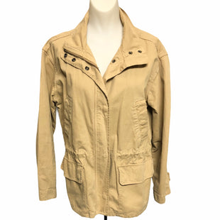 Primary Photo - BRAND: MADEWELL STYLE: JACKET OUTDOOR COLOR: CAMEL SIZE: S SKU: 293-29312-30100