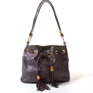 "Primary Photo - BRAND: ELLIOT LUCCA STYLE: HANDBAG LEATHER COLOR: BRONZE SIZE: MEDIUM SKU: 293-29338-1079811""W X 9""H X 2.5""D"