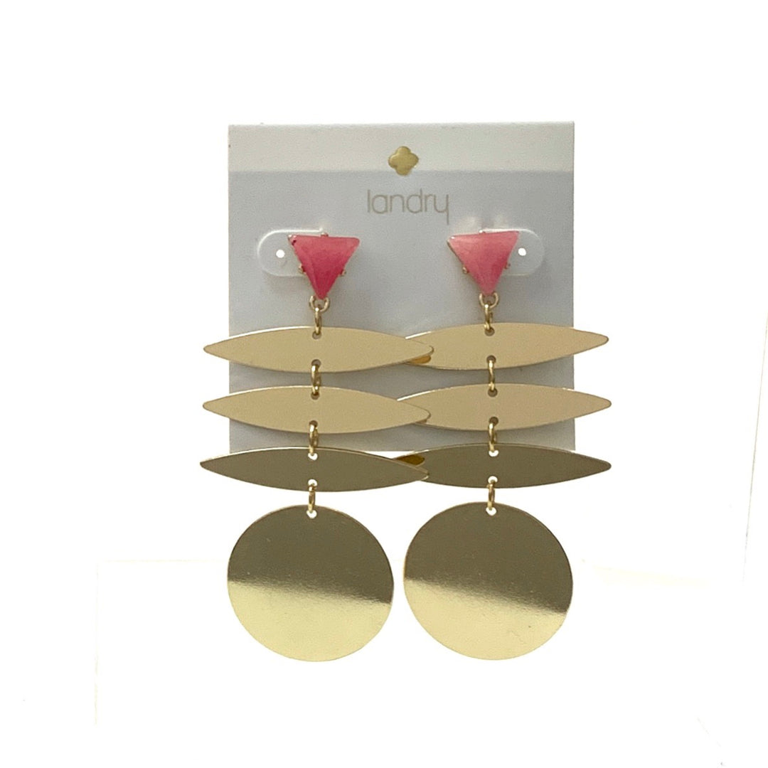 Primary Photo - BRAND:   CMC <BR>STYLE: EARRINGS <BR>COLOR: GOLD <BR>SKU: 293-29344-1827