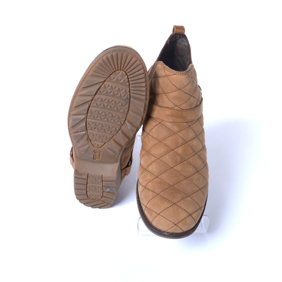 Photo #3 - BRAND: TEVA <BR>STYLE: BOOTS ANKLE <BR>COLOR: BROWN <BR>SIZE: 7.5 <BR>SKU: 293-29312-30814