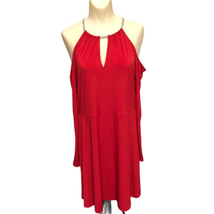 Primary Photo - BRAND: MICHAEL BY MICHAEL KORS STYLE: DRESS SHORT LONG SLEEVE COLOR: RED SIZE: L SKU: 293-29351-379