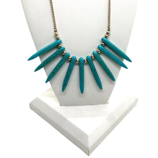 Primary Photo - BRAND:    CLOTHES MENTOR STYLE: NECKLACE COLOR: TURQUOISE OTHER INFO: CM - 9 STRIPES SKU: 293-29312-33621