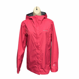 Primary Photo - BRAND: COLUMBIA STYLE: JACKET OUTDOOR COLOR: PINK SIZE: L OTHER INFO: RAIN JACKET SKU: 293-29344-4338