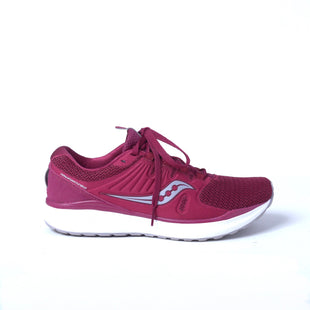 Primary Photo - BRAND: SAUCONY STYLE: SHOES ATHLETIC COLOR: BURGUNDY SIZE: 8.5 SKU: 293-29311-32964