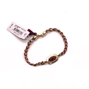 Primary Photo - BRAND: KENDRA SCOTT JEWLERY STYLE: BRACELET COLOR: BURGUNDY OTHER INFO: ANNA FRIENDSHIP SKU: 293-29311-34040