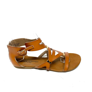Primary Photo - BRAND: ROCK AND CANDY STYLE: SANDALS FLAT COLOR: BROWN SIZE: 5.5 SKU: 293-29344-4099