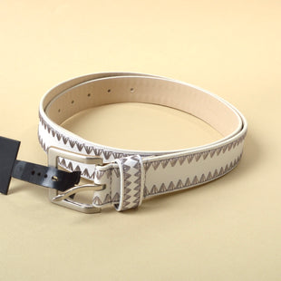 Primary Photo - BRAND: LANE BRYANT STYLE: BELT COLOR: WHITE SIZE: XL SKU: 293-29312-28725