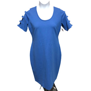 Primary Photo - BRAND:    CLOTHES MENTOR STYLE: DRESS SHORT SHORT SLEEVE COLOR: BLUE SIZE: XXL OTHER INFO: BOLD ELEMENTS - SKU: 293-29311-33688