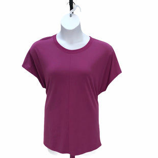 Primary Photo - BRAND: HALOGEN STYLE: TOP SHORT SLEEVE COLOR: MAGENTA SIZE: 2X SKU: 293-29338-10663