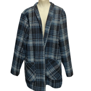 Primary Photo - BRAND: COLDWATER CREEK STYLE: BLAZER JACKET COLOR: BLUE PLAID SIZE: XL SKU: 293-29311-33848