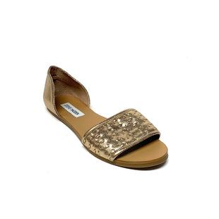 Primary Photo - BRAND: STEVE MADDEN STYLE: SHOES FLATS COLOR: GOLD SIZE: 8.5 SKU: 293-29344-4314