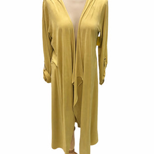 Primary Photo - BRAND: TAHARI STYLE: COVERUP COLOR: YELLOW SIZE: M SKU: 293-29311-30096