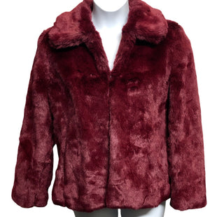 Primary Photo - BRAND: LIZ CLAIBORNE STYLE: COAT SHORT COLOR: MAROON SIZE: 16 SKU: 293-29338-11761