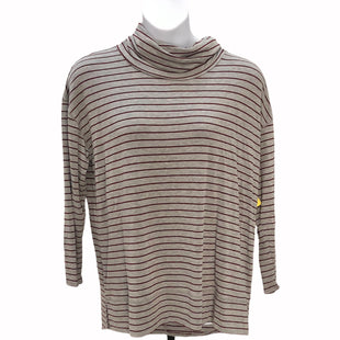 Primary Photo - BRAND: LIZ CLAIBORNE STYLE: TOP LONG SLEEVE COLOR: GREY RED SIZE: 1X SKU: 293-29311-29616