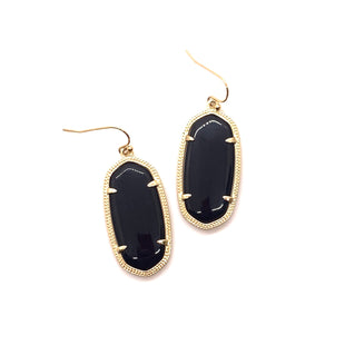 Primary Photo - BRAND: KENDRA SCOTT JEWLERY STYLE: EARRINGS COLOR: BLACK OTHER INFO: ELLE SKU: 293-29311-34142