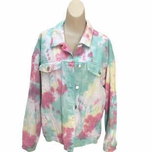Primary Photo - BRAND: PEACH LOVE CREAM CALIFORNIA STYLE: BLAZER JACKET COLOR: TIE DYE SIZE: L SKU: 293-29311-30116