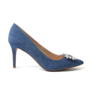 Primary Photo - BRAND: JESSICA SIMPSON STYLE: SHOES HIGH HEEL COLOR: DENIM BLUE SIZE: 10 SKU: 293-29311-30945
