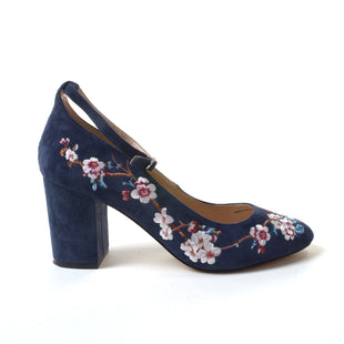 Primary Photo - BRAND: WHITE HOUSE BLACK MARKET STYLE: SHOES HIGH HEEL COLOR: NAVY SIZE: 10 SKU: 293-29311-30141